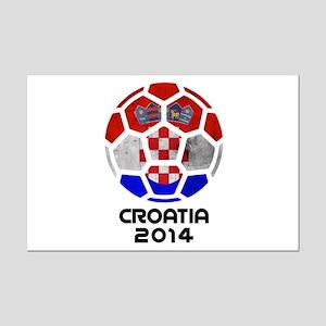 Croatia World Cup 2014 Mini Poster Print