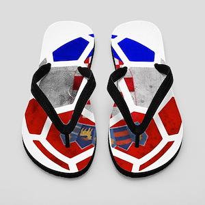 Croatia World Cup 2014 Flip Flops