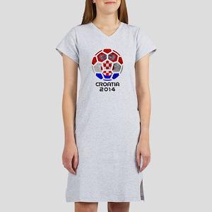 Croatia World Cup 2014 Women's Nightshirt