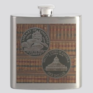 Library of Congress Dollar Flask