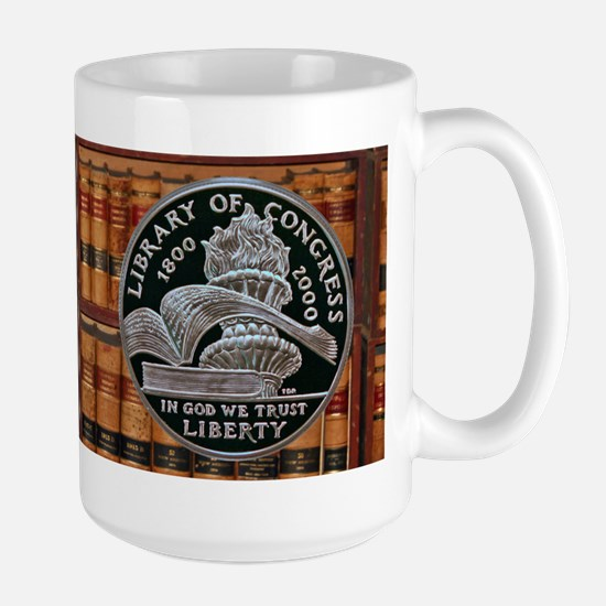 Library of Congress Dollar Large Mug
