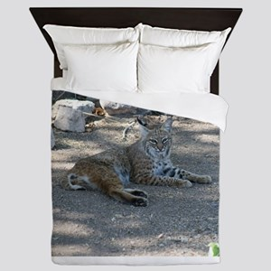 Bobcat Queen Duvet