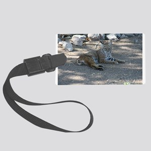 Bobcat Luggage Tag