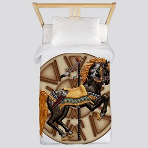 Harvest Moons Plains Pony Twin Duvet Cover