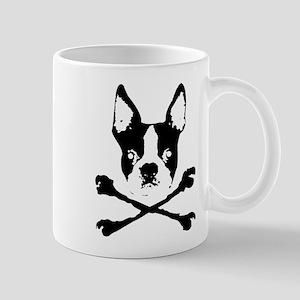 Boston Terrier Crossbones Mug