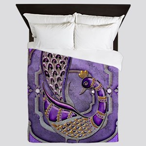 Harvest Moons Peacock Queen Duvet