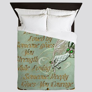 Harvest Moons Love and Courage Queen Duvet