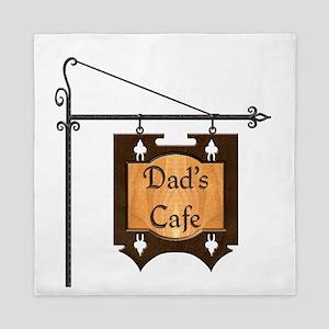Harvest Moons Dads Cafe Queen Duvet