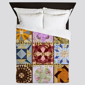 Harvest Moons Quilt Queen Duvet