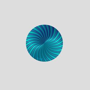 Spiral Vortex 1 Mini Button