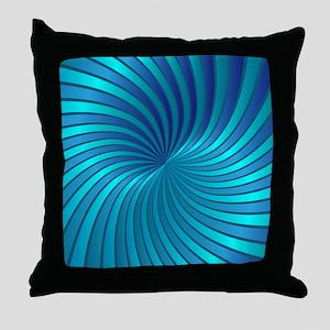 Spiral Vortex 1 Throw Pillow