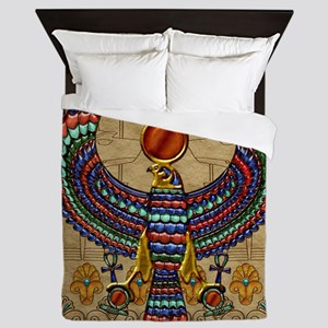 Harvest Moons Egypt Hawk Queen Duvet