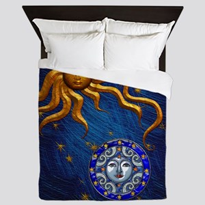 Harvest Moons Sun and Moon Queen Duvet