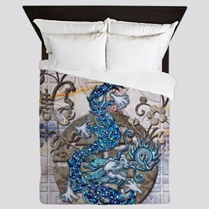 Harvest Moons Lapis Dragon Queen Duvet