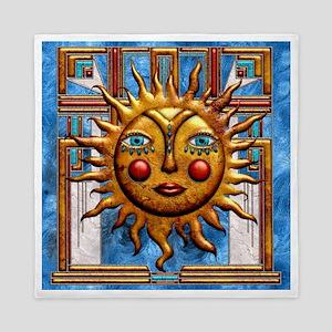 Harvest Moons Folk Sun Queen Duvet