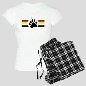 Gay Bear Pride Stripes Bear Paw Pajamas