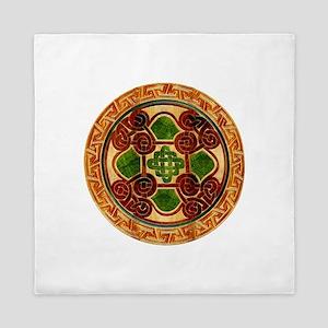 Harvest Moons Celtic Mandala Queen Duvet