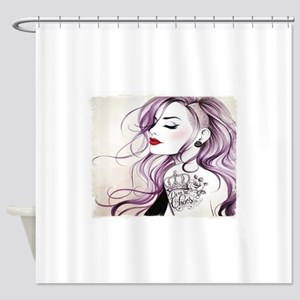 Sexy Pin Up Shower Curtain