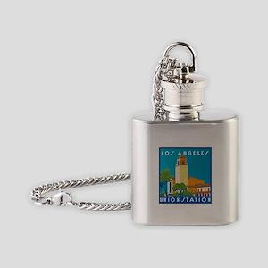 Los Angeles Union Station 75h Anniversary Flask Ne