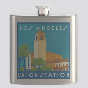Los Angeles Union Station 75h Anniversary Flask