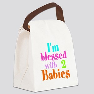 Personalizable, I'm blessed Canvas Lunch Bag