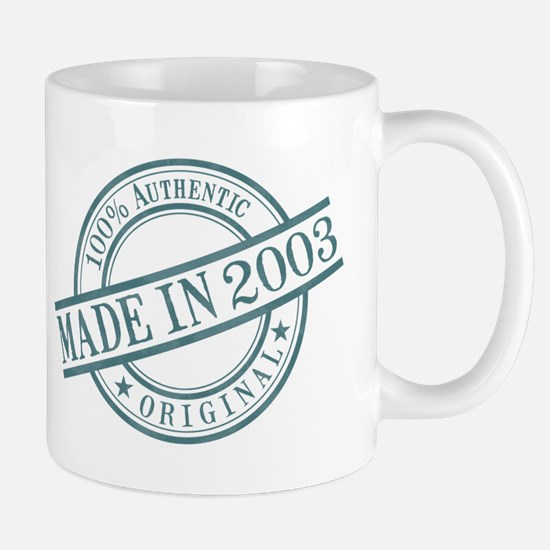 Made in 2003 Mug