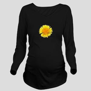 Dandylion Long Sleeve Maternity T-Shirt