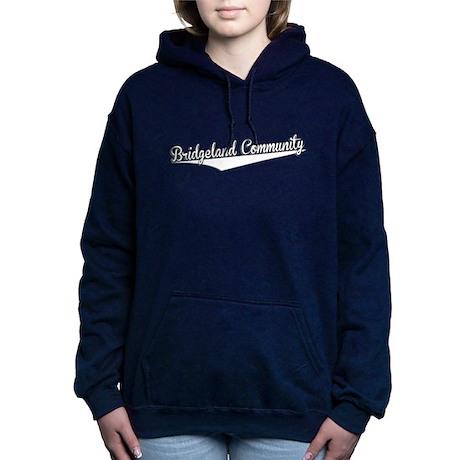 Bridgeland Community, Retro, Women's Hooded Sweats