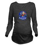 VP-2 Long Sleeve Maternity T-Shirt