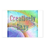 Creatively Lazy Postcards (Package of 8)