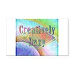 Creatively Lazy Rectangle Car Magnet