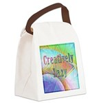 Creatively Lazy Canvas Lunch Bag