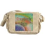 Creatively Lazy Messenger Bag