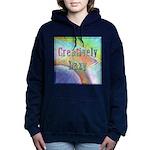 Creatively Lazy Women's Hooded Sweatshirt