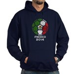 Mexico World Cup 2014 Hoodie (dark)