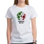 Mexico World Cup 2014 Women's T-Shirt