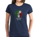 Mexico World Cup 2014 Women's Dark T-Shirt