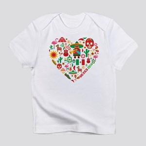 Mexico World Cup 2014 Heart Infant T-Shirt