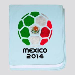 Mexico World Cup 2014 baby blanket