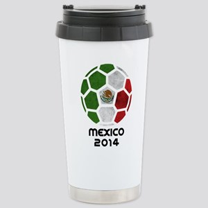 Mexico World Cup 2014 Stainless Steel Travel Mug