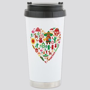 Mexico World Cup 2014 H Stainless Steel Travel Mug