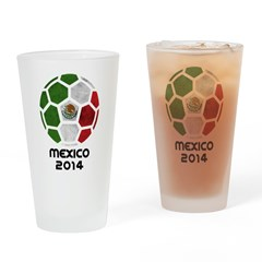 Mexico World Cup 2014 Drinking Glass