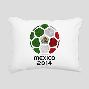 Mexico World Cup 2014 Rectangular Canvas Pillow