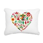 Mexico World Cup 2014 He Rectangular Canvas Pillow
