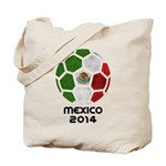 Mexico World Cup 2014 Tote Bag