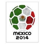 Mexico World Cup 2014 Small Poster