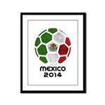 Mexico World Cup 2014 Framed Panel Print