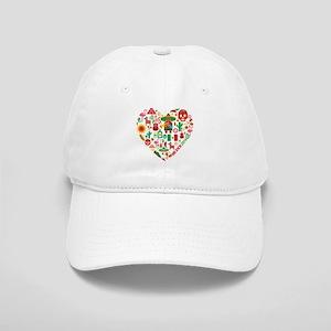 Mexico World Cup 2014 Heart Cap