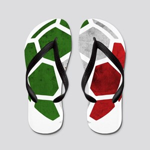 Mexico World Cup 2014 Flip Flops