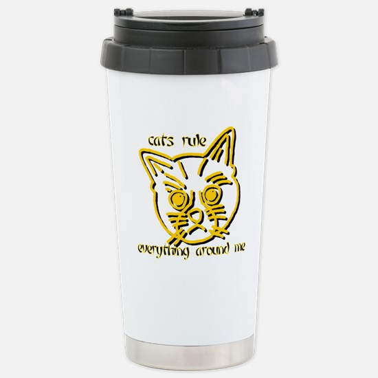 Catcream Stainless Steel Travel Mug
